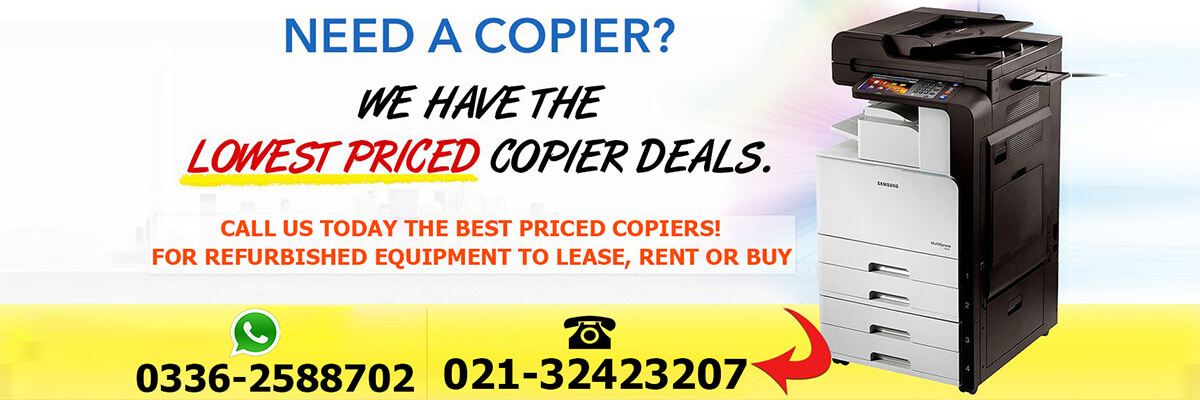 Trade your used copier with the top class refurbished copier